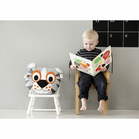 Tiger Organic Cotton Throw Pillow