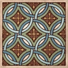 Tile Pattern IV Wall Art