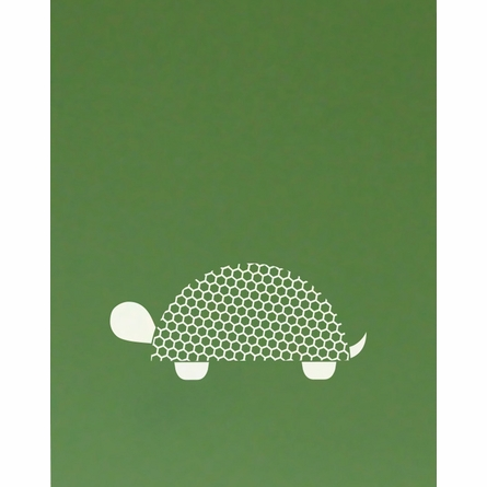 Tiled Turtle Art Print