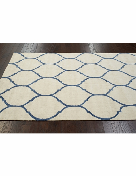 Tina Plush Cotton Rug Ivory