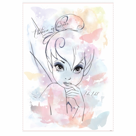 Tinker Bell I Believe in Fairies Wall Decals