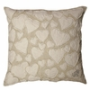 To Carry All My Love White Throw Pillow