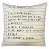 To My Lovey Letter Throw Pillow