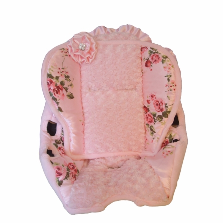 Toddler Car Seat Cover in Lola Bella