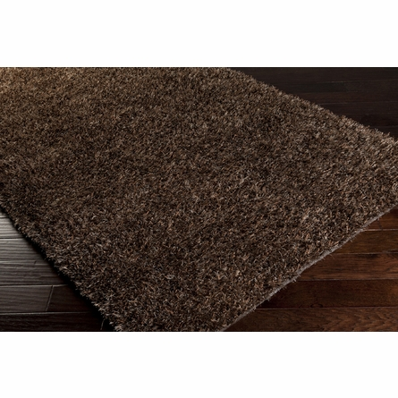 Toffee Brown Shag Taz Rug