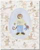 Toffee Toile Monkey Canvas Reproduction
