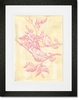 Toile Birdies Framed Art Print