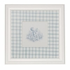 Toile Blue Boy Playing Art Print