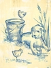 Toile Puppy Canvas Wall Art