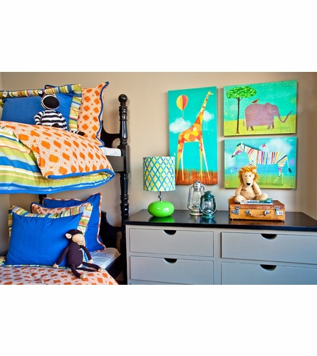 Too Tall Giraffe Canvas Wall Art