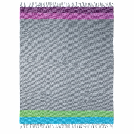 Tortosa Charcoal Throw Blanket