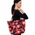 Tote Diaper Bag in Red Poppy