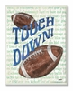 Touch Down Wall Plaque