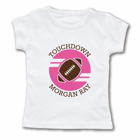Touchdown Personalized T-Shirt