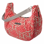 Touring Tote Diaper Bag - Almond Raspberry