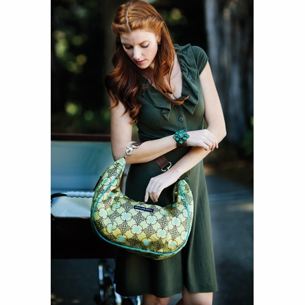 Touring Tote Diaper Bag - Citrine Roll