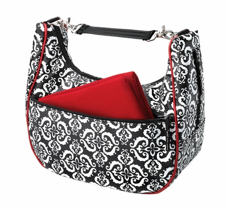 Touring Tote Diaper Bag - Frolicking in Fez Glazed