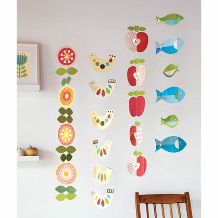 Tower of Birds Set of 5 Strand Mobile