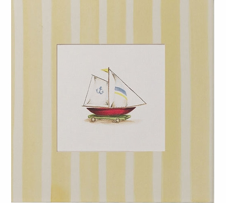 Toy Boat Art Print