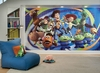 Toy Story 3 Chair Rail Prepasted Wall Mural