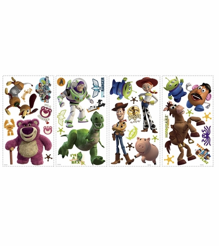 Toy Story 3 Peel & Stick Wall Decal