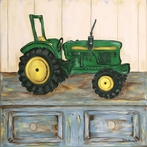Tractor I Canvas Reproduction