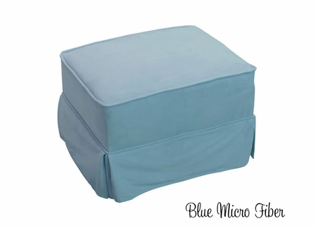 Traditional Skirted Ottoman