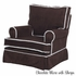 Traditional Square Back Nursery Glider