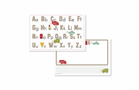 Traffic Jam Personalized Kids Reversible Placemat