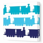Trains Canvas Wall Art