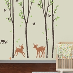 Tranquil Woodland Wall Decals
