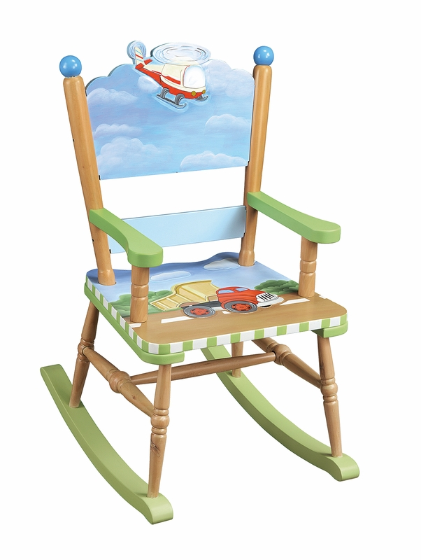 ... Shop by Recipient > Gifts for Boys > Transportation Fun Rocking Chair