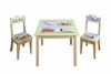 Transportation Fun Table with 2 Chairs Set
