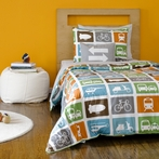 Transportation Multi Duvet Set