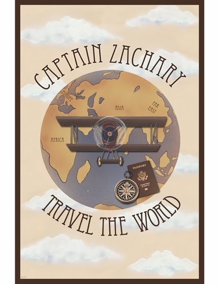 Travel the World Personalized Wall Hanging