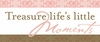 Treasure Life's Little Moments Pink Canvas Reproduction