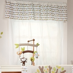 Tree Dot Window Valance