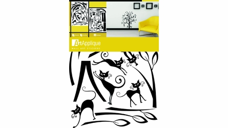 Tree Full of Cats Wall Decals