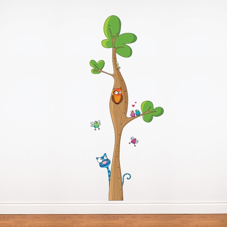 Tree Height Gauge Wall Decal
