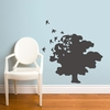 Tree of Life in Charcoal Wall Decal
