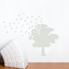 Tree of Life in Sage Wall Decal