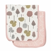 Treetops Muslin Burp Cloth Set of 2
