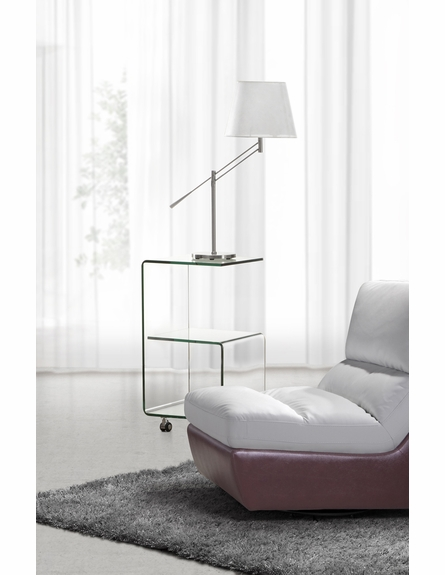 Trek Side Table in Clear