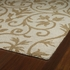 Trellis Floral Rug in Brown