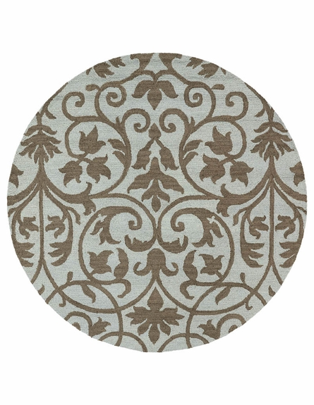 Trellis Floral Rug in Spa
