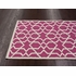 Trellis Rug in Bubble Gum Pink