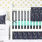 Tribal Arrow Crib Bedding Set