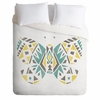 Tribal Butterfly Luxe Duvet Cover