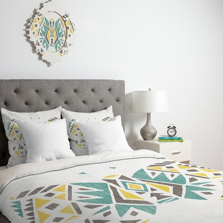 Tribal Butterfly Duvet Cover