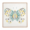 Tribal Butterfly Framed Wall Art